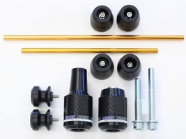 OES Carbon Frame Sliders Spools Fork Sliders Axle Sliders 17 18 19 20 FZ... - $189.99