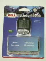 Bell Cyclocomputer 12 function bicycle bike SPEEDOMETER odometer trip di... - $15.56