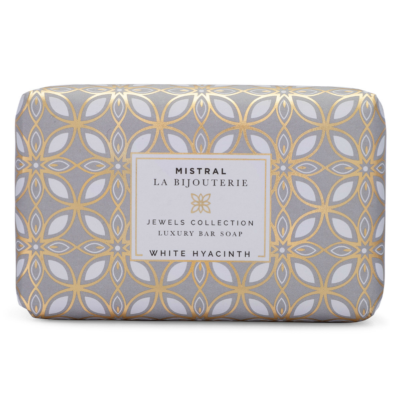 Primary image for Mistral Jewels White Hyacinth Water Bar Soap 8.8oz