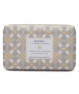 Mistral Jewels White Hyacinth Water Bar Soap 8.8oz - $13.99
