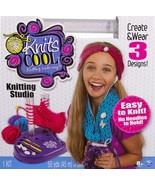 Knit's Cool post Knitting Studio Kit easy beginner craft H5 - $19.77