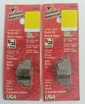 """(Set Of 2) 5/32"""" Roman Ogee Router Bit Vermont American 22653 Carbide Tip - $13.99"""