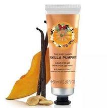 The Body Shop VANILLA PUMPKIN 1.0 Fluid Ounces Hand Cream image 3