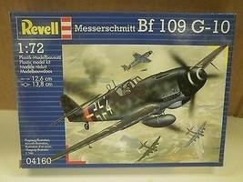 NEW MODEL- REVELL- 04160 MESSERSCHMITT BF 109 G-10- LEVEL 2- NEW- W50 - $8.98