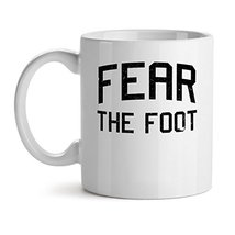 Fear The Foot - Mad Over Mugs - Inspirational Unique Popular Office Tea Coffee M - $20.53