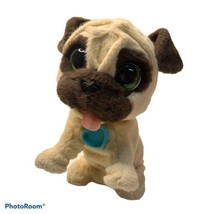 Fur Real Friends Brown Tan Dog Interactive 2014 Hasbro JJ My Jumpin' Pug... - $21.99