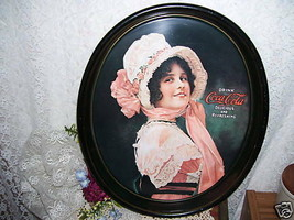 Victorian Miss Coca Cola Tray - $38.70