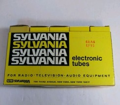 Sylvania Tubes 6BA6/EF93 Open Box Lot Of 5 Tested/Works - $55.99