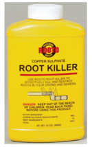 Rooto Crystal ROOT KILLER 32 oz Copper Sulphate Drain Sewer Destroy Prev... - $19.99