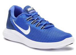 New in Box - Nike Lunar Converge Paramount Blue/White Running Sneaker Si... - $49.99