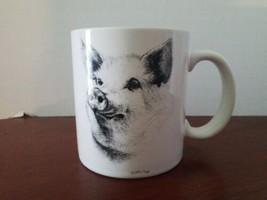 Otagiri Jonah's Workshop V.Miller  Pig  Coffee Mug Collectible Japan Mug... - $10.88