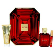 MICHAEL KORS SEXY RUBY 3 PIECE GIFT SET EAU DE PARFUM SPRAY 100ML NIB-5N... - $93.56