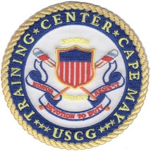 United States Coast Guard Training Center Cape May Patch HONOR DEVOTION ... - $11.87