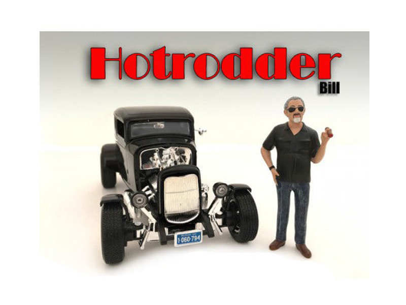 ""\""""Hotrodders"""" Bill Figure For 1:24 Scale Models by American Diorama""800|600|?|en|2|fb6d1183b2a23220217c836d9cd587c7|False|UNLIKELY|0.34285420179367065
