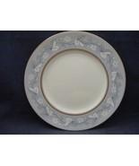 "Royal Doulton Qeensbury Bone China 8"" Salad Plate Blue White Leaves - $9.95"