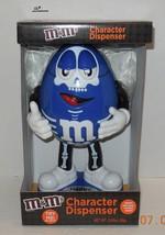 M & M's Brand Halloween Blue Skeleton Candy Dispenser Limited Edition Se... - $42.08