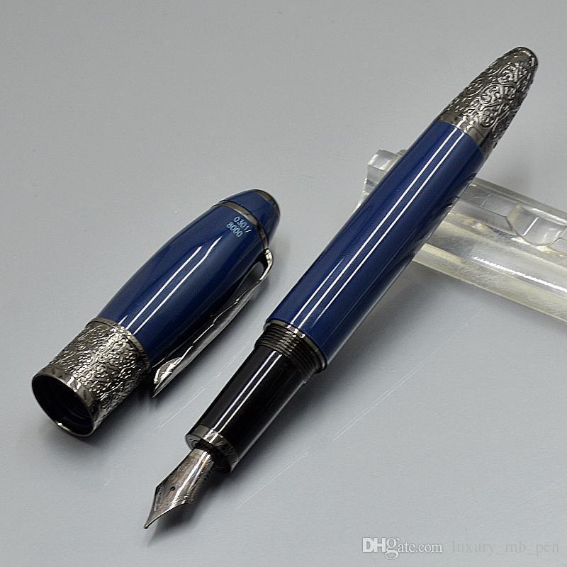 Collective edition Writer Daniel Defoe Fountain pen 4810 Middle size 14k NIb Lux