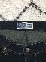 Women's Levi Mid Rise Straight Dark Wash Jeans Size 14M - $27.67