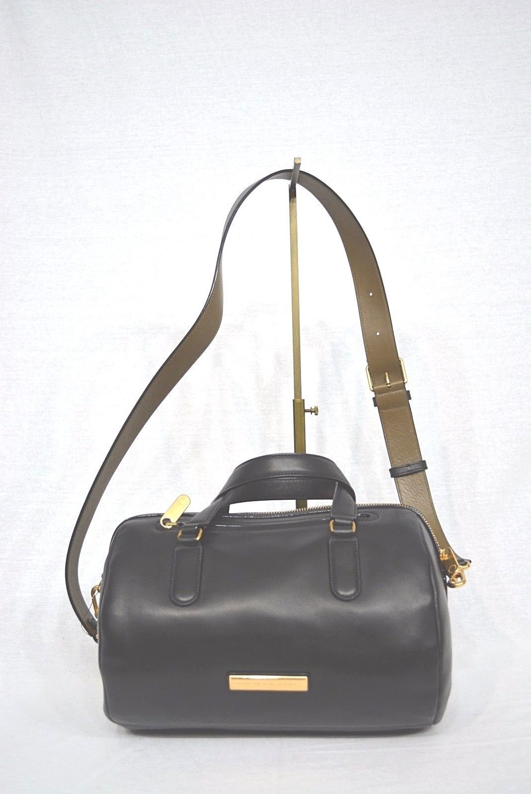 Primary image for NWD! Marc By Marc Jacobs M0004363 Luna Satchel/Shoulder Bag in Black Color $458