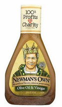 Newman's Own Red Wine Vinegar and Oil Salad Dressing, 16oz, Case of 6 bo... - $38.99
