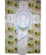 1995 RARE Precious Moments Christening Baby Wall Cross 159212 - $21.77
