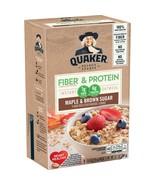 Quaker Weight Control Oatmeal, Fiber & Protein, Maple Brown Sugar, 8 Pac... - $5.00