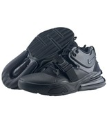 Nike Air Force 270 Size 8.5 Triple Black Mens Basketball Trainer Sneaker... - $159.95