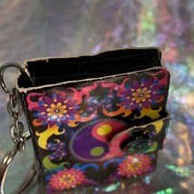 V Nice Lisa Frank Dream Writers Mini Notebook Keychain Yin Yang ☯️ 90s image 2