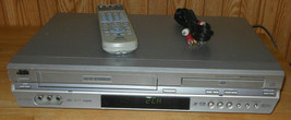Jvc HR-XVC27U Dvd Vcr Combo Dvd Player Vhs Vcr Combo With Remote & Cables - $146.98