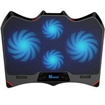 Laptop Cooling Pad Cooler Stand Coolpad Fan Mat External 15 inch Noteboo... - €8,93 EUR