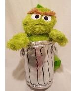 "Sesame Street Oscar The Grouch Plush Backpack Plush Stuffed Animal 13"" - $10.23"