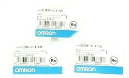 LOT OF 3 OMRON E39-L118 PROTECTIVE BRACKETS E39L118 image 1