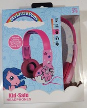 My Little Pony New Kid Safe Volume Limiting Headphones Ages 3-9 - $12.00