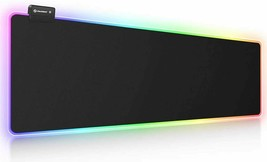 """RGB Gaming Mouse Pad, 14 Lights Modes Ultra-Large Size 31.5 X 11.8 """"  - $27.50"""