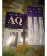 NEW Sealed LOT of 4 AQ Atak Quality T-120 6 Hour Blank VHS Tapes Super S... - $16.20
