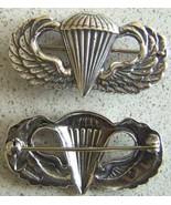 WWII Paratrooper Sterling Silver pin back Meyer Design        - $60.00