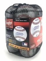 Rawlings Official League Recreational Baseballs Bag of 12 Equipment Youth Balls - $39.55
