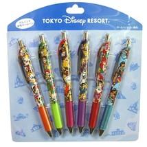 Disney Resort Limited Ball Pen 6 Set Character Large Set Mickey Minnie ... - $54.45