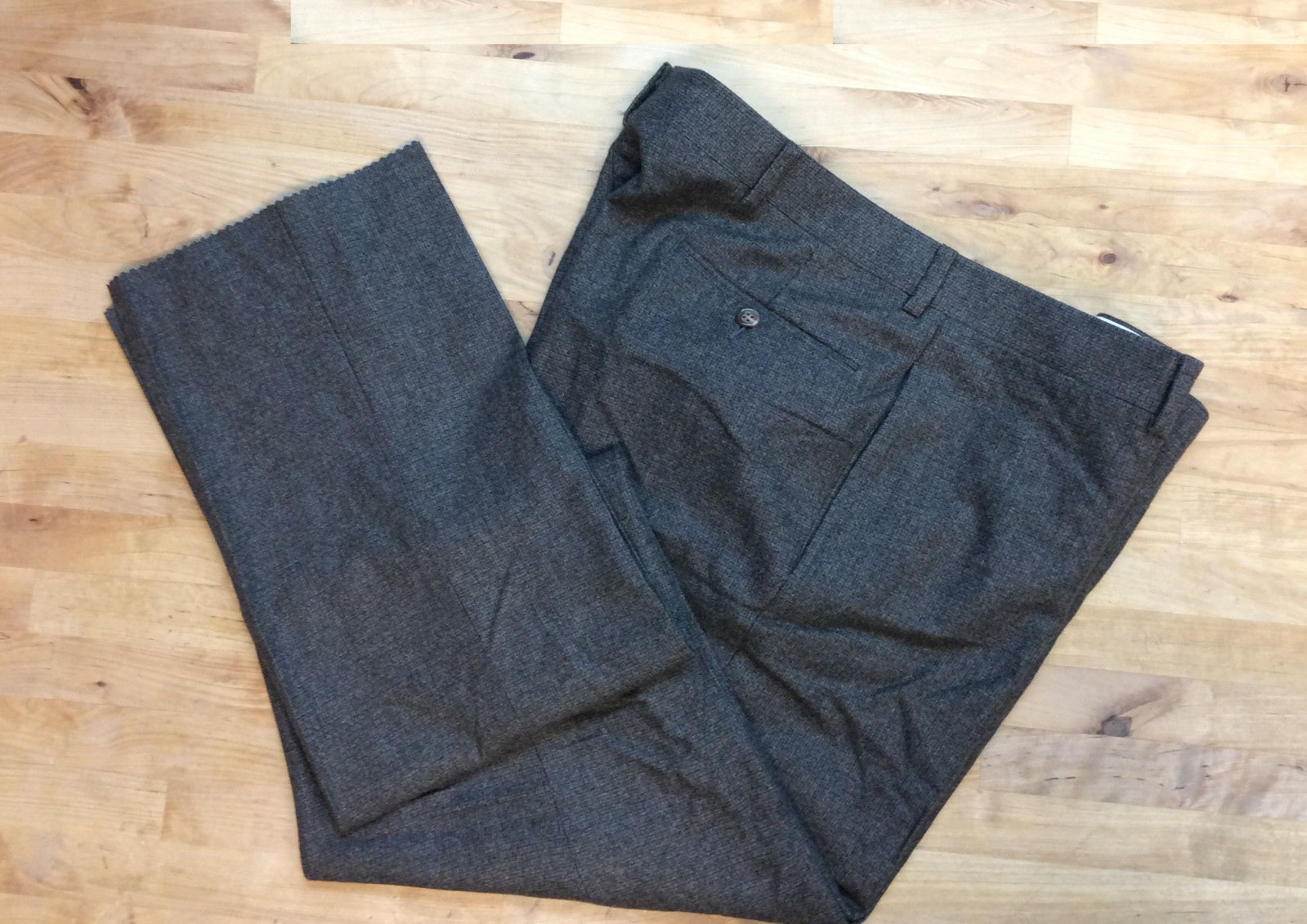 Primary image for $398 Polo Ralph Lauren Men's Virgin Wool Italy Pants, Olive, Size 38 Reg