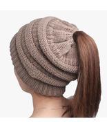 Pretty Ponytail Hats - 3 Colors - $9.98