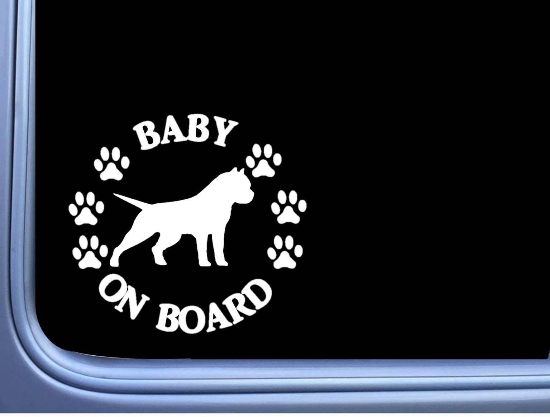 "Baby on Board Neapolitan Mastiff L521 6/"" Sticker neo dog decal"