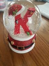 """K"" Christmas Snowglobe upc 719283207050 - $35.16"