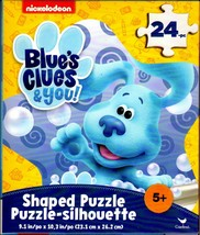 Blue`s Clues & you! -  24 Shaped Jigsaw Puzzle - $10.88
