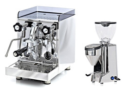 Rocket Cellini Evoluzione V2 Espresso Coffee Maker Machine & Fausto Grinder Set - $3,389.67
