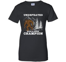 Undefeated Hide Seek Champion  Funny Halloween T-Shirt 2018 Halloween Sh... - $19.95+