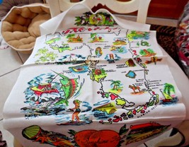 Vintage state of Forida kitchen towel wall hanging - $7.00