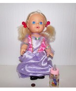 Hasbro Vintage 1989 UH OH Drink Wet Blonde Baby Doll - $17.99