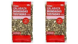 Roasted & Salted Pumpkin Seeds Peeled 2*150 grs Spanish Spices of the World - $29.99