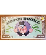 GO FOR BROKE GAME 1965 SELCHOW & RIGHTER COMPLETE MADE IN USA - $30.00