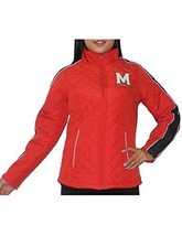 NWT Maryland Terrapins Women's G-III UMD Red Jacket Size M, L - $29.99